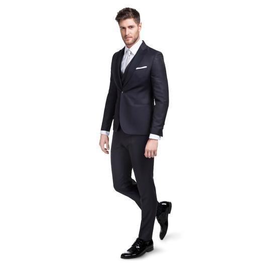 Trzyczęściowy garnitur ślubny LEONARDO GAGS000102