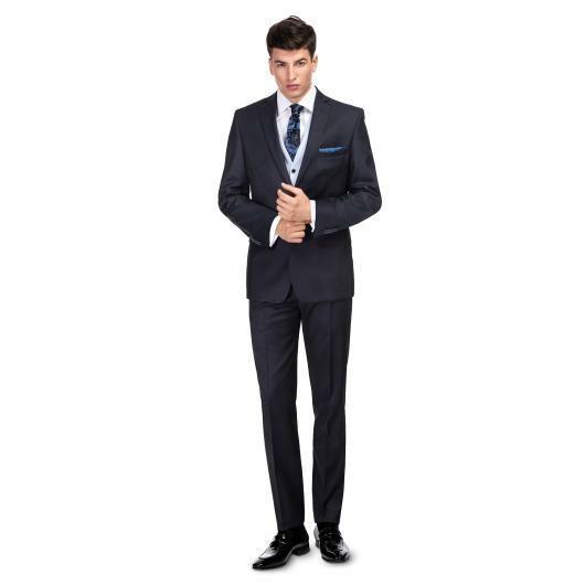 Trzyczęściowy garnitur ślubny LEONARDO GXGS900015