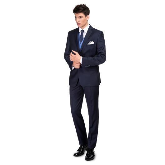Trzyczęściowy garnitur ślubny LEONARDO GXGS900017