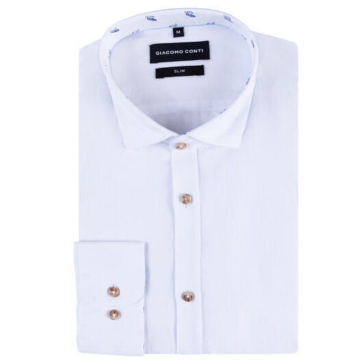 Koszula SANDRO lniana KLBS000046