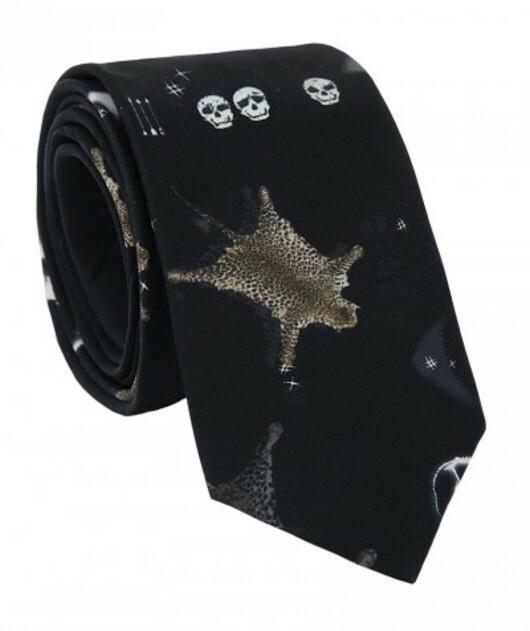 Krawat jedwabny KWCR007023