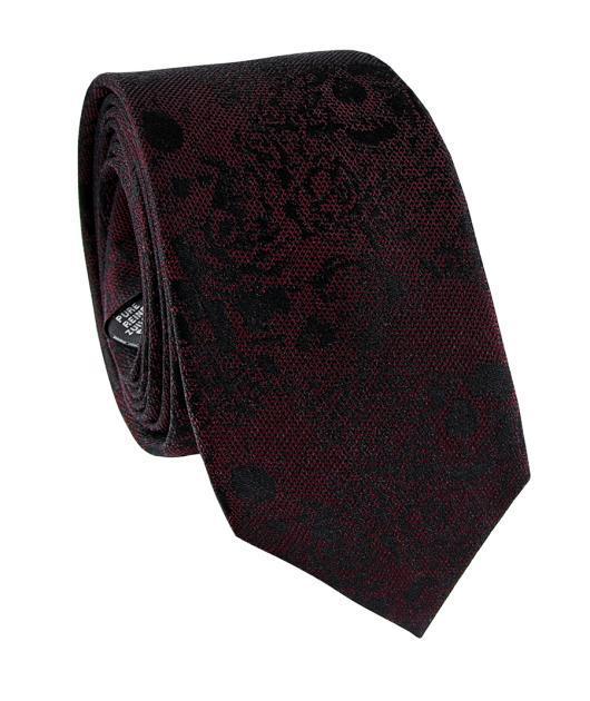 Krawat jedwabny KWAR000212