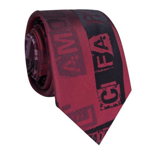 Krawat jedwabny KWAR009005