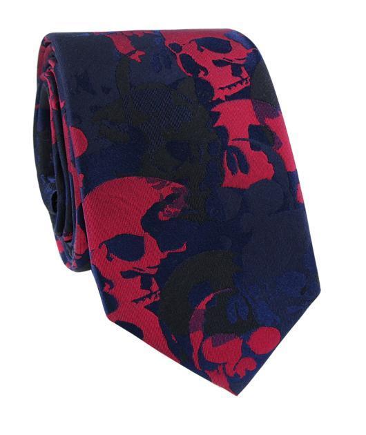 Krawat jedwabny KWCR000217