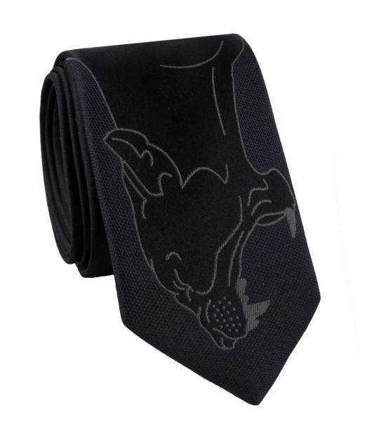 Krawat jedwabny KWGR000186