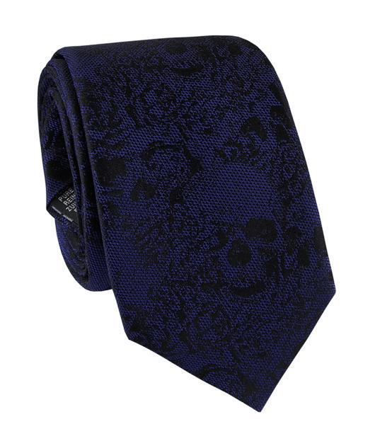 Krawat jedwabny KWGR000211