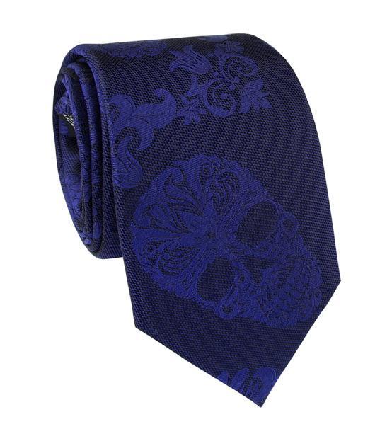Krawat jedwabny KWGR000223