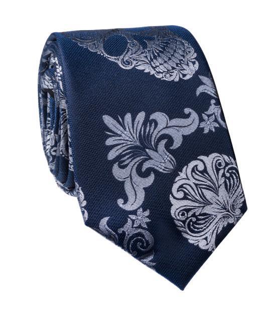 Krawat jedwabny KWGR000224