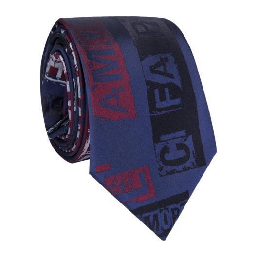 Krawat jedwabny KWGR009002