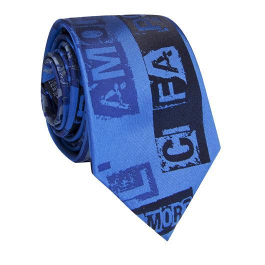 Krawat jedwabny KWNR009004