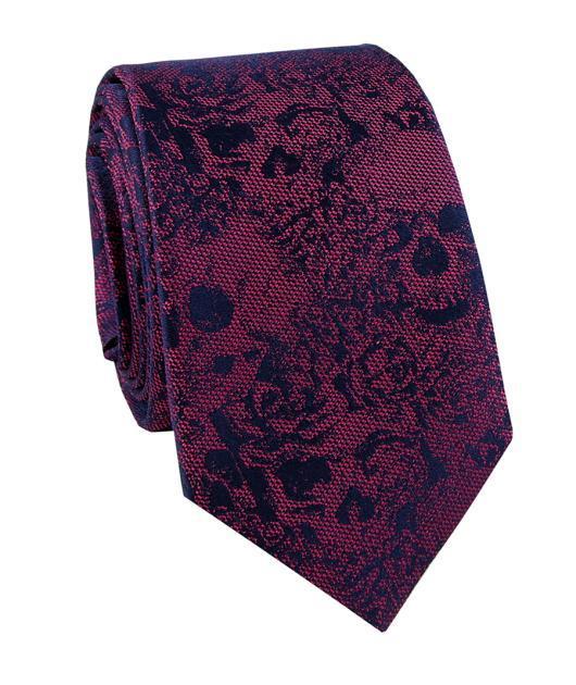 Jedwabny krawat KWRR000215
