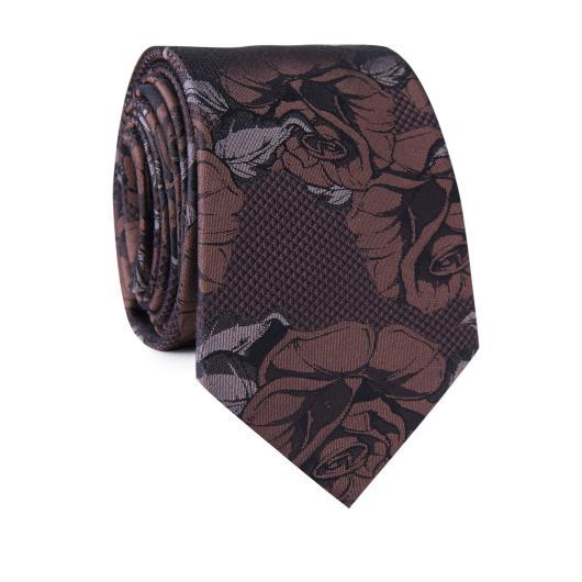 Krawat jedwabny KWSR000307