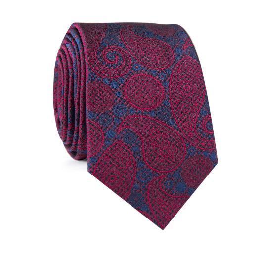 Krawat jedwabny KWWR000313