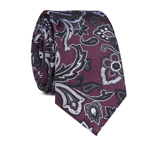 Krawat jedwabny KWWR000348