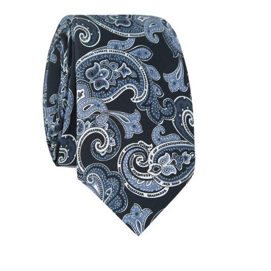 Krawat jedwabny KWWR007014