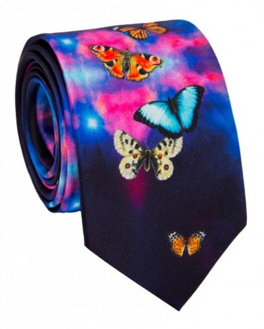 Krawat jedwabny KWWR007018