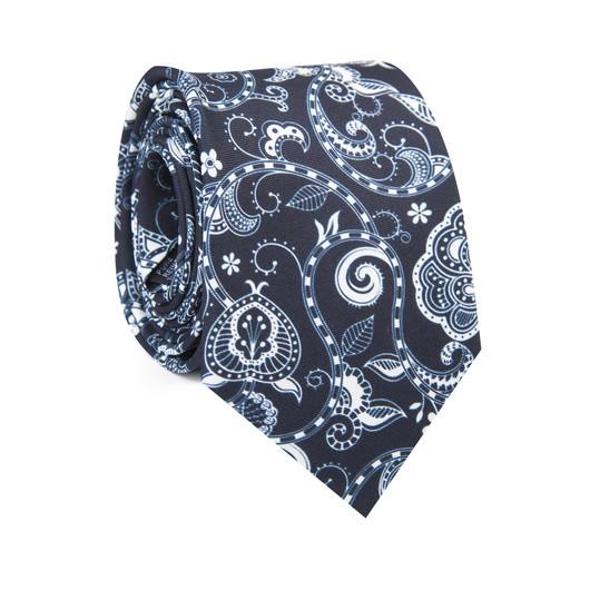 Krawat jedwabny KWWR007048