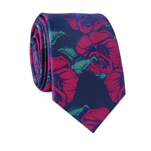 Krawat jedwabny KWWR000304
