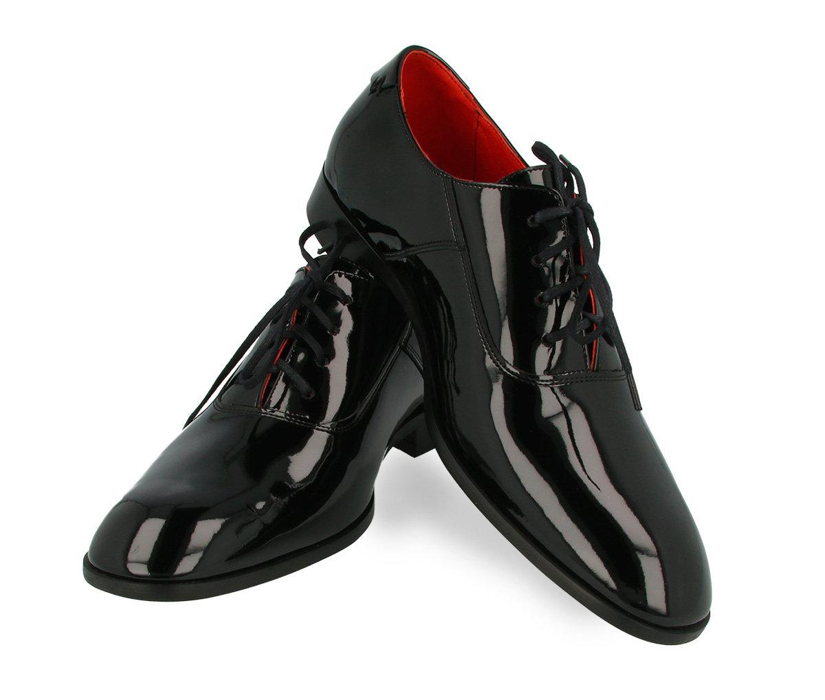 e9abe5830b041 Lakierowane buty ślubne Pana Młodego