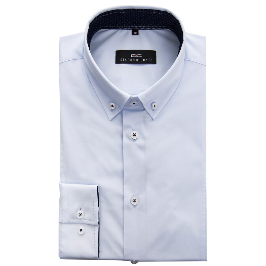 74755c4fed56be Koszula męska biała MICHELE Giacomo Conti