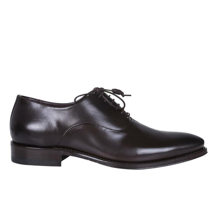 efbcc8bbd1ee3 Brązowe buty męskie wizytowe Giacomo Conti BUKN000053