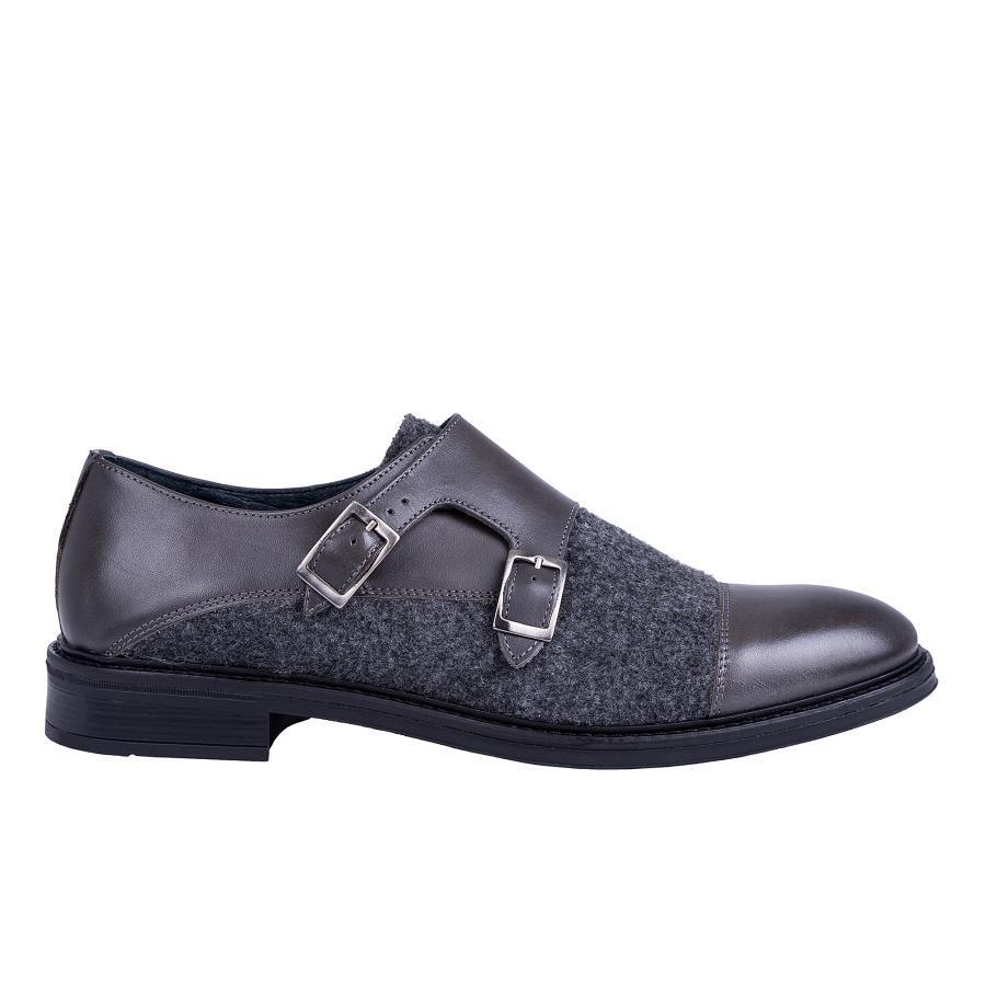 bae51fc7 Szare buty męskie Giacomo Conti BUPN000035