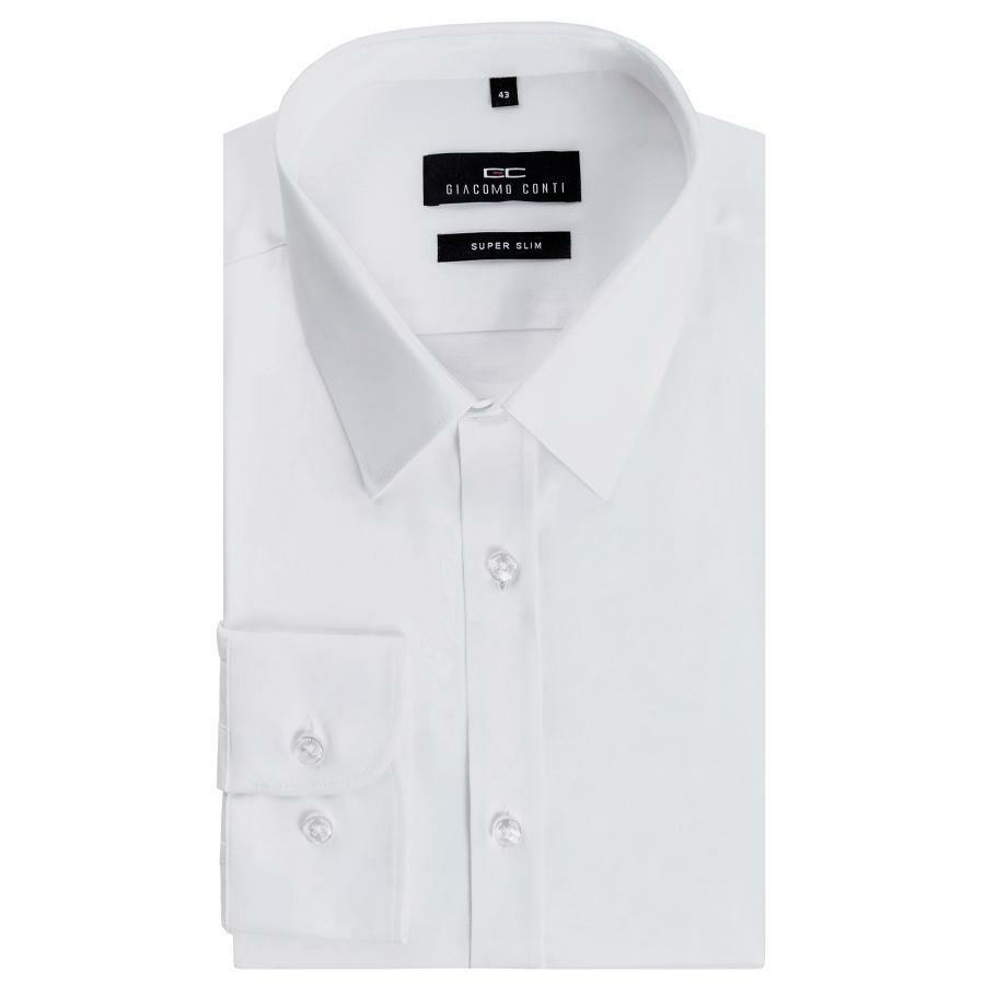99ce605fb85c1c Biała koszula męska Super Slim Giacomo Conti