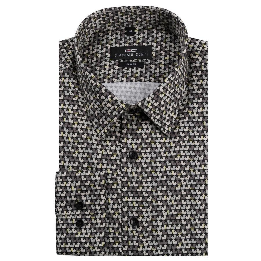 Bawełniana koszula męska w gwiazdy  6gY1a