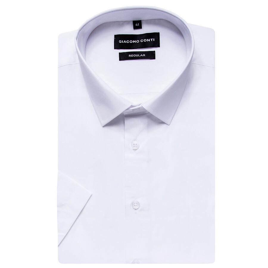 ab9fcb07825118 Wizytowa koszula męska na krótki rękaw Giacomo Conti