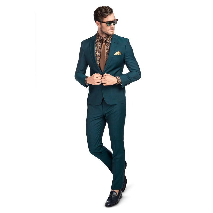 274b58013d382 Zielony garnitur LUCIANO - Giacomo Conti