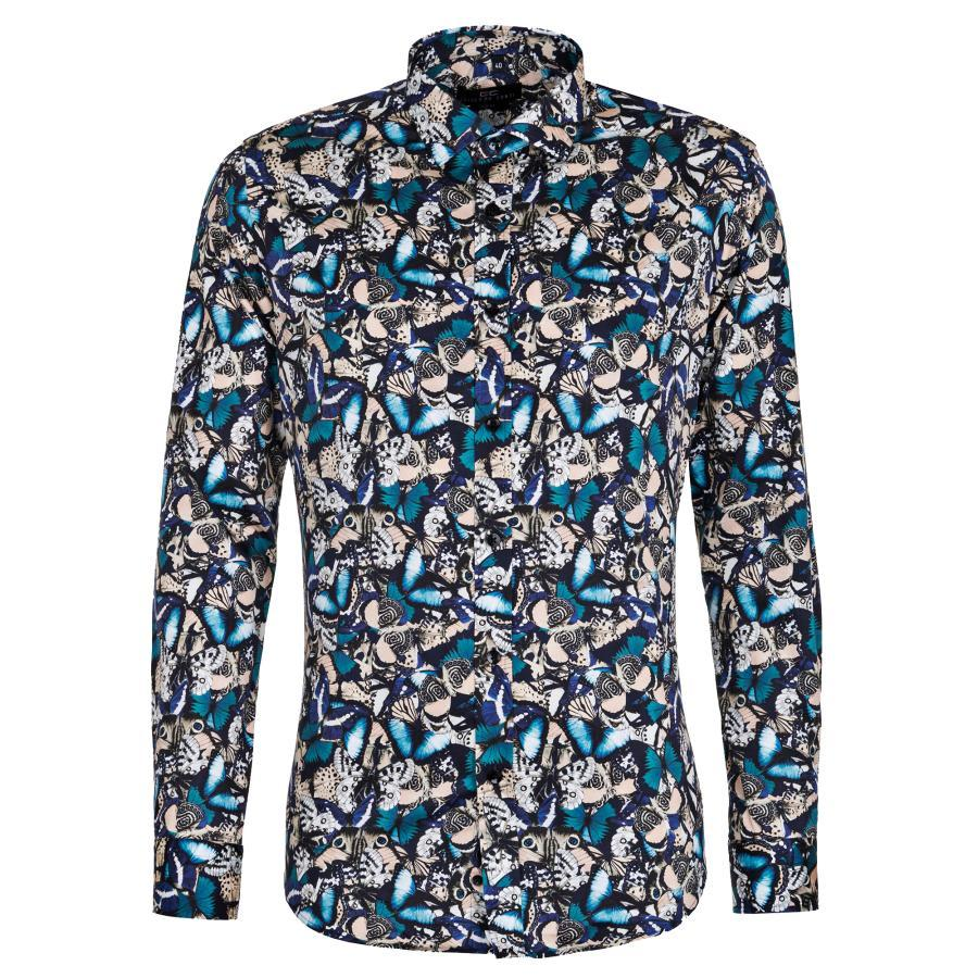 6f8221b71ed39f Koszula męska w kolorowe motyle
