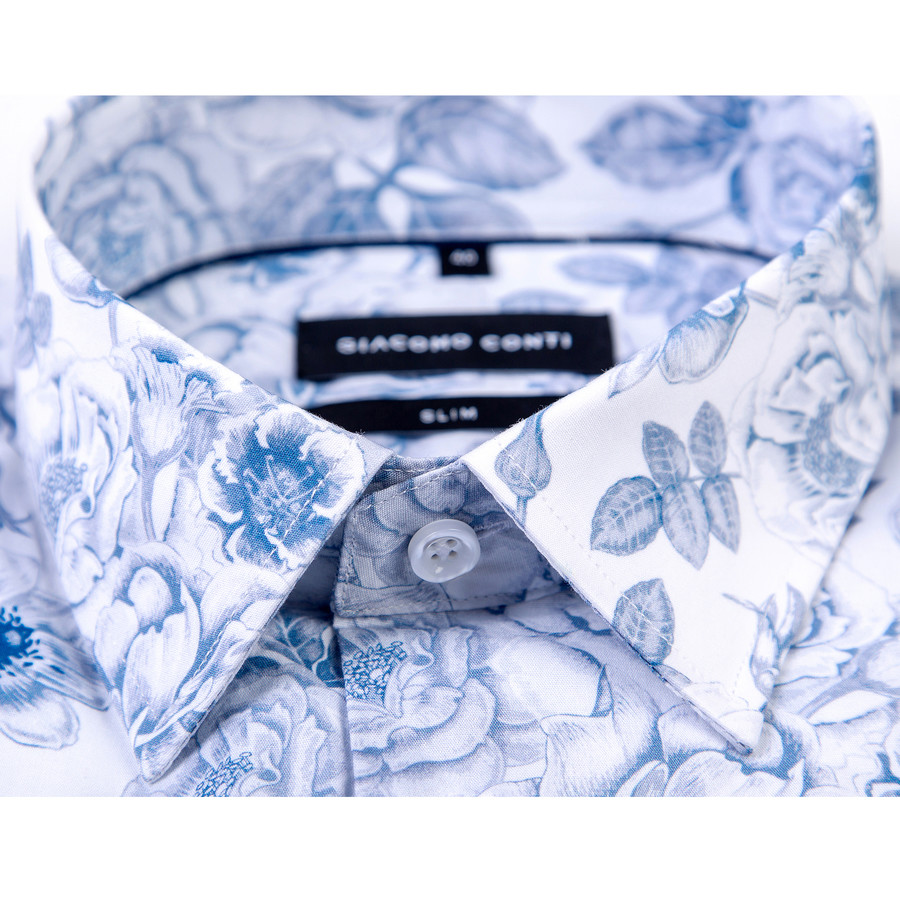 Koszula męska wzorzysta SIMONE KDBS000862|Giacomo Conti  sndVz