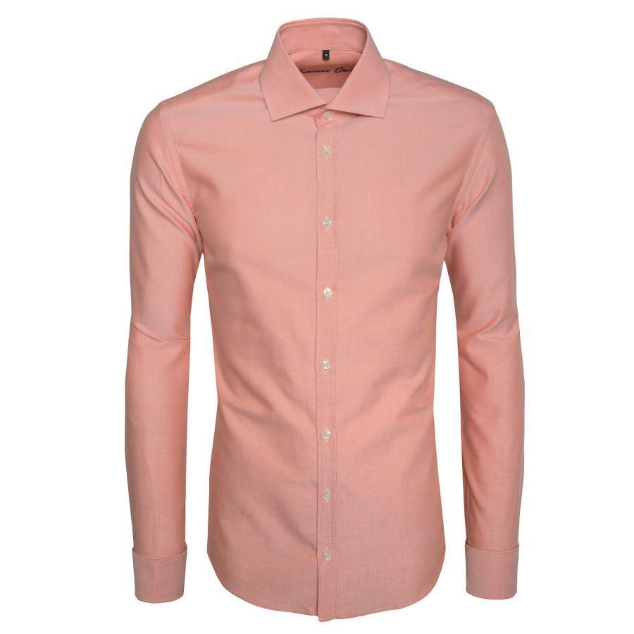 Groovy Koszula łososiowa RICCARDO - Giacomo Conti PL95