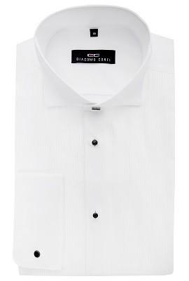 334ae17db07886 Elegancka koszula męska z plisami Giacomo Conti