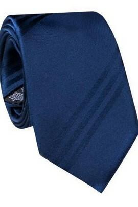 granatowy krawat biznesowy Giacomo Conti